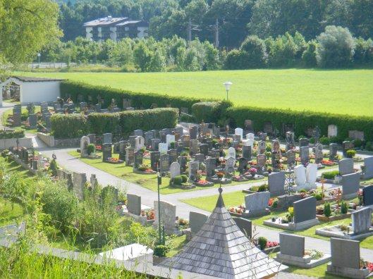European grave site