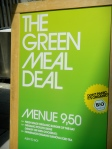 Green Meal Deal Sign