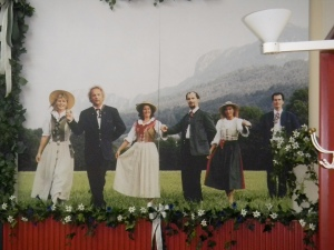 The real Von Trapp fami