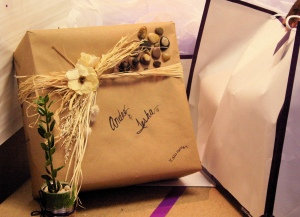 Eco Friendly Wedding Gift Wrap