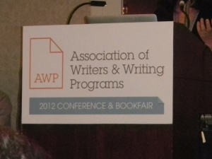 AWP Conference Sign