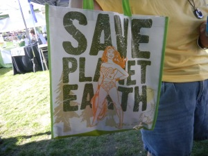 Save Planet Earth bag